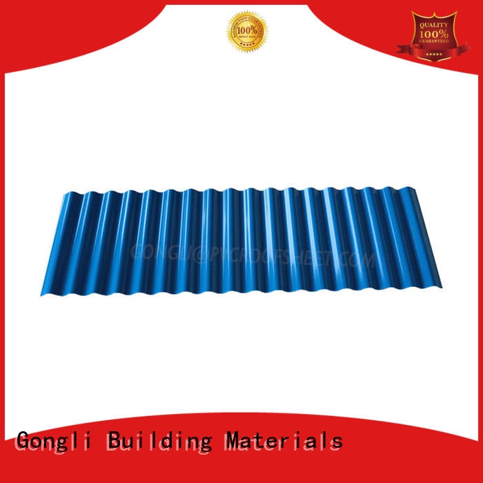 Gongli 40mm one stop roofing for business for chemical factory