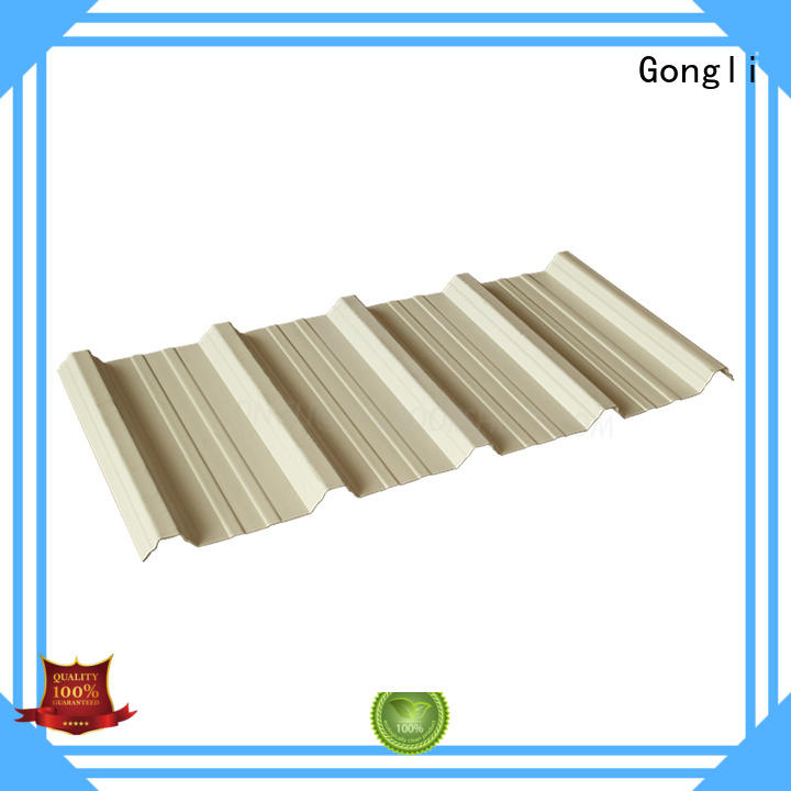 Gongli roof pvc plastic roof tile company for poultry farm