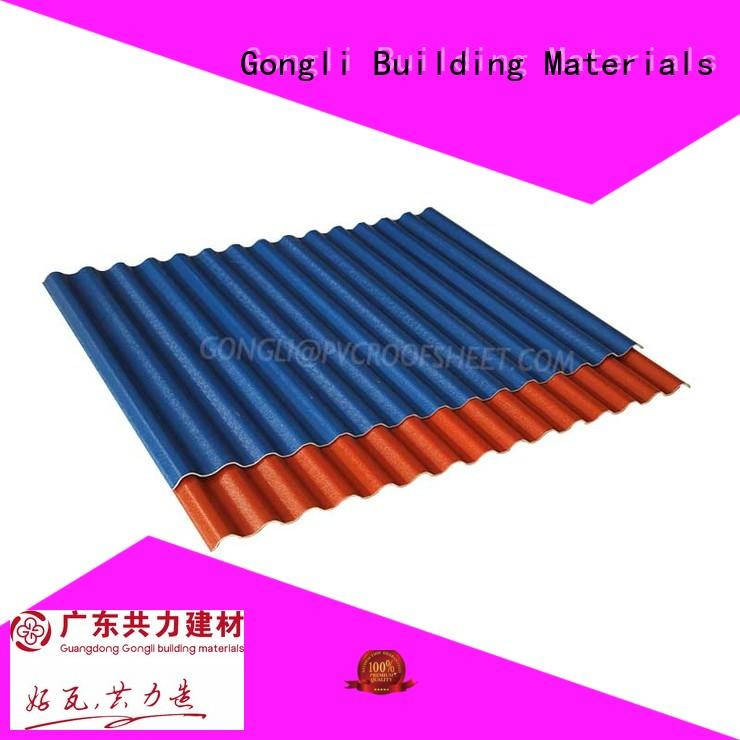 Gongli small composite tiles for business for plant