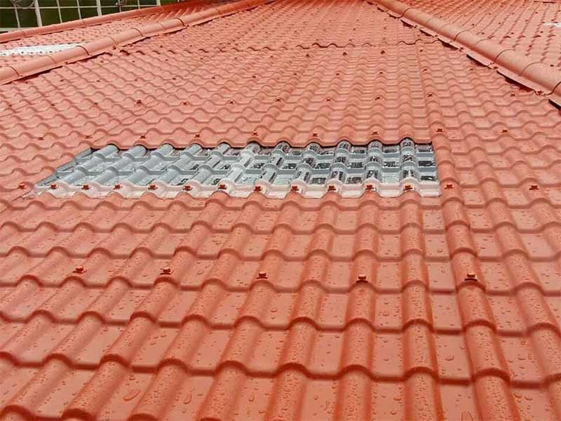 Top translucent roofing shape Supply for green house-4
