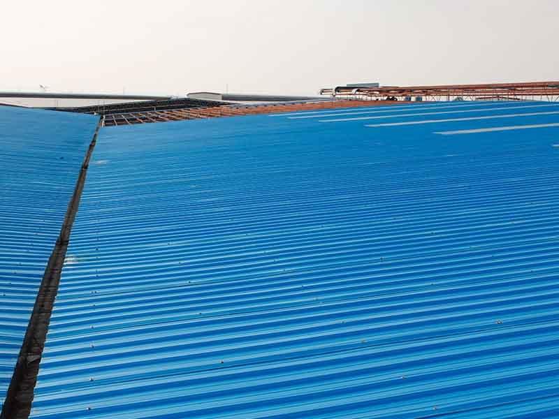 Gongli-Asa Pvc Trapezoid 40mm Wave | Asa+Pvc Composite Roof Tiles-11