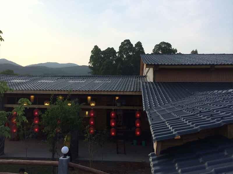 Gongli-Manufacturer Of Asa Fiber Glass Spanish Tile - Asa Roofing-11