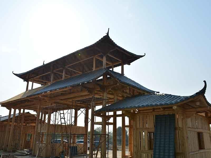 Gongli-Manufacturer Of Asa Fiber Glass Spanish Tile - Asa Roofing-14