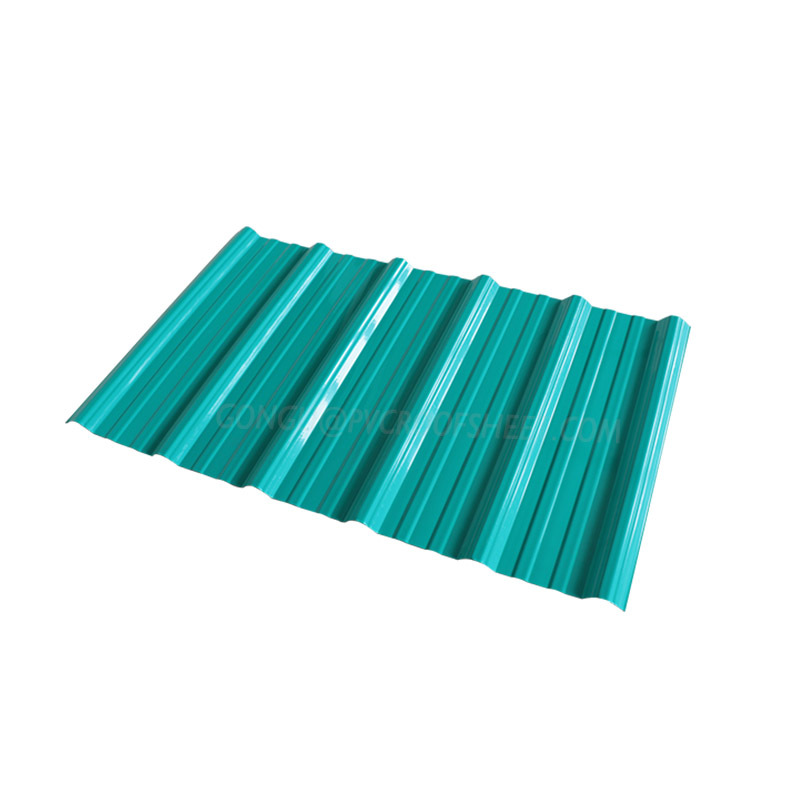 Gongli-Trapezoid Smooth Surface | Asa+Pvc Composite Corrugated Roofing-5