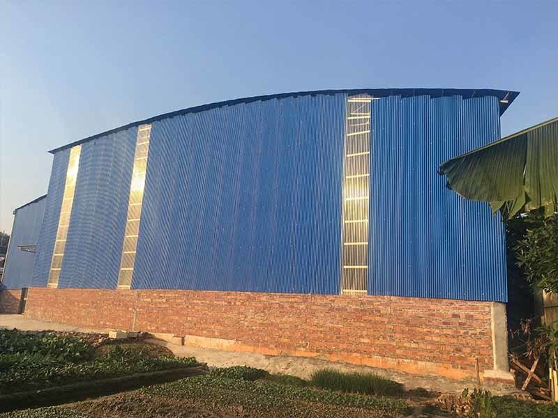 Gongli Latest transparent fiberglass sheet manufacturers for car shed-4