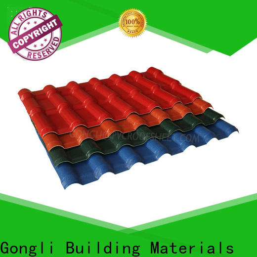 Gongli New asa plastic sheet manufacturers for house