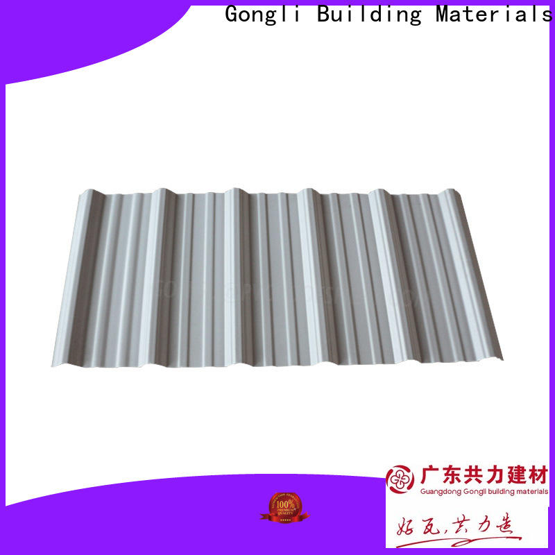Gongli 40mm upvc sheets for business for poultry farm