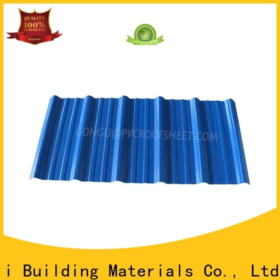 Gongli Top composite roof tiles for sale for plant