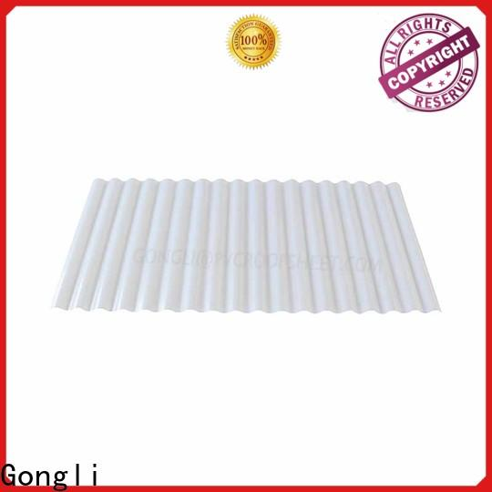 New translucent roofing sheet shape company for car shed