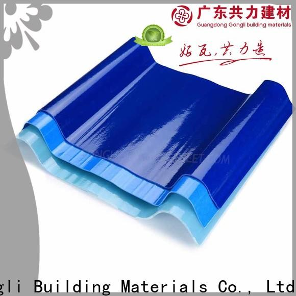 Top translucent roof panels upvc suppliers for green house