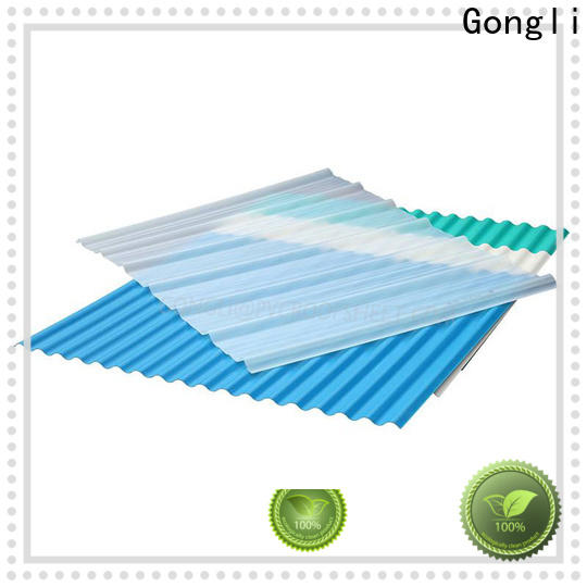 Gongli Wholesale frp transparent roofing sheet company for farms
