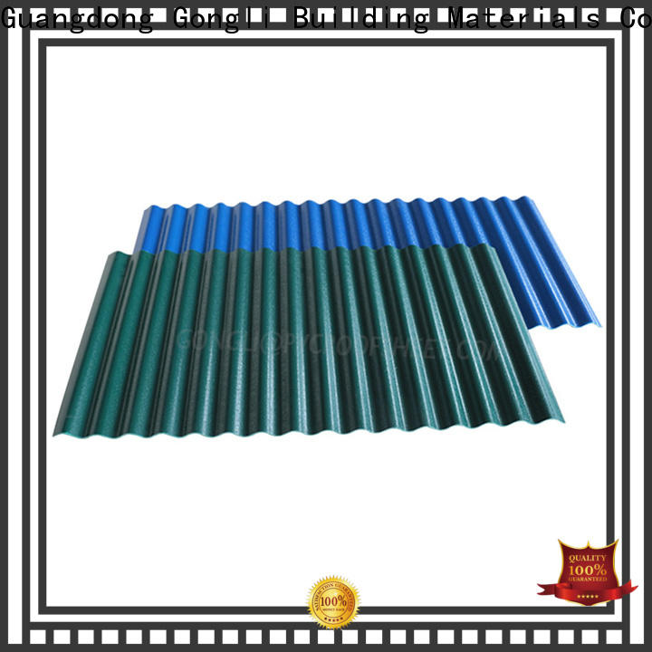 Top composite roof tiles corrugated for sale for agricultural market