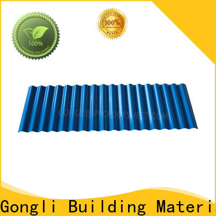 Gongli Custom pvc wall panel sheet for sale for car shed