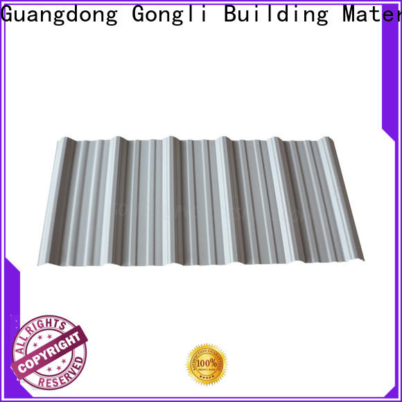 Gongli wave factory roofing shed suppliers for agricultural market