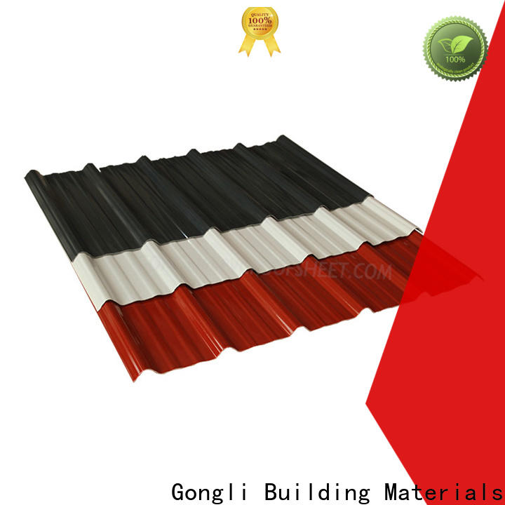 Gongli Custom composite corrugated roofing manufacturers for car shed