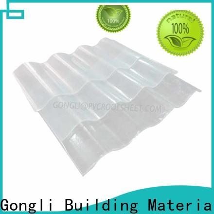 Gongli Wholesale fiberglass sheet for sale for car shed