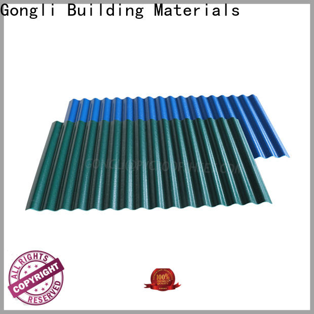 Gongli Latest composite roofing panels supply for car shed