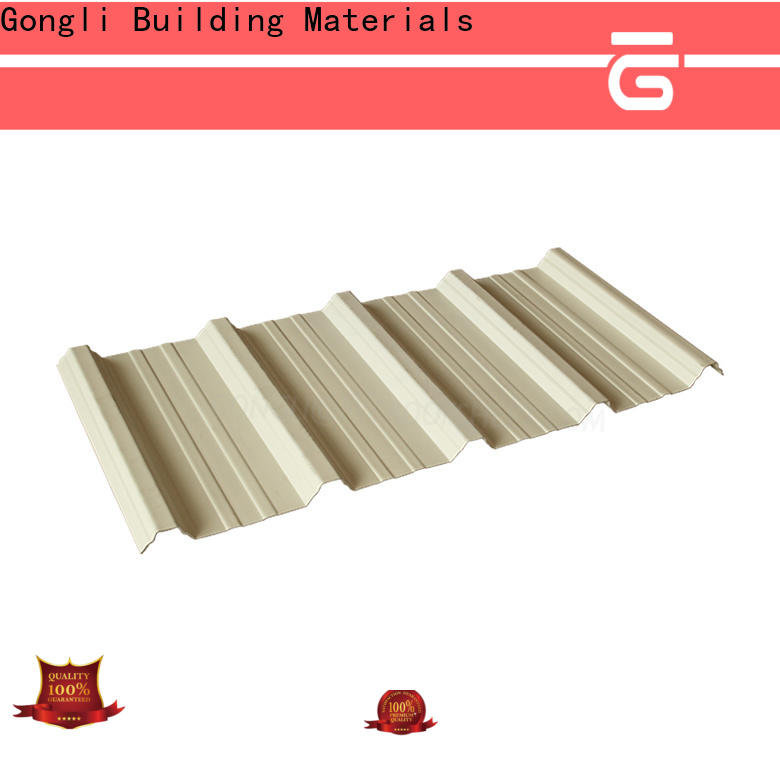 Gongli Custom upvc roofing sheets supply for agricultural market