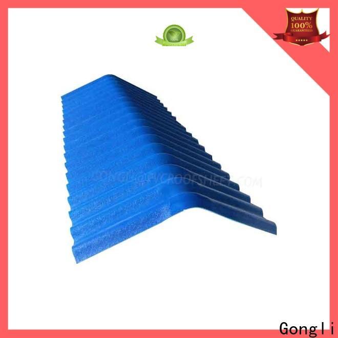 Gongli Best pvc rainwater gutter suppliers for factory